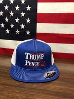 Trump Pence 2020 hat Pacific Headwear MAGA 4D3 Trucker DSeries Snapback Flatbill