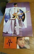 """PRINCE & NPG """"Betcha By Golly Wow!"""" Limited Edition Pack CD Single & Poster 1996"""