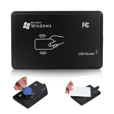 125khz RFID ID EM Card Reader & Writer&Copier/Duplicator w/ 5pcs Key Tag Kit