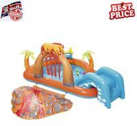 Inflatable Water Slide Outdoor Garden Sprayer Kids Play Centre Summer Pool Games