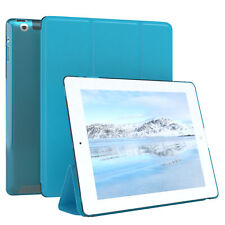 "Apple iPad 2 iPad 3 iPad 4 Hülle 9.7"" Schutzhülle Tablet Tasche Case Hellblau"