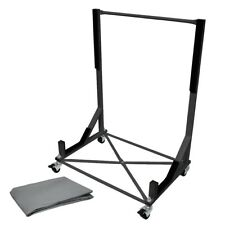 Porsche Convertible roof hardtop stand trolley black carrier +cover hood support