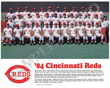1984 CINCINNATI REDS 8X10 TEAM PHOTO PICTURE