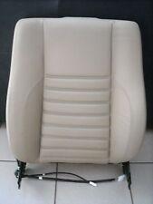 1993 Jaguar XJS Passenger Seat Backrest Assembly- Doeskin [AEE] Leather  - NEW!