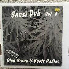 Glen Brown & Roots Radics Sensi Dub Vol. 6 Original Music OMLP026 Rare LP 1992