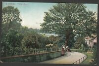 Postcard The Zoo in Central London the gardens early view by EFA