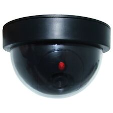 CCTV DOME SECURITY DUMMY CAMERA REPLICA MOTION SENSOR FLASHING LED SELECT