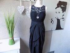 Laura Scott Abendkleid edel Spitze schwarz Gr. 38 Kleid (42d)