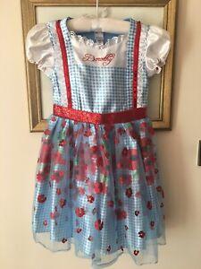 George Wizard Of Oz DOROTHY Fancy Dress Up Costume Dress  Age 7-8