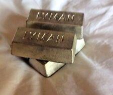 Deux! Tin lingots 600 G RECHARGEMENT envoi gratuit Lee RCBS Lyman