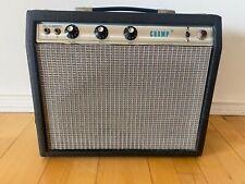 Fender Champ Silverface 1970's Vintage Guitar Amp