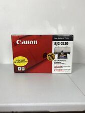 Canon BJC - 2110 Color Bubble Jet Printer Ink Included Mac Windows New In Box