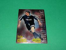 ARDIAN KOZNIKU LE HAVRE AC HAC FOOTBALL CARD PANINI 1996-1997 BUTEURS