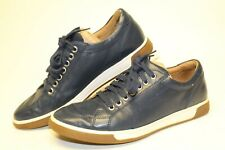 Cole Haan NEW Mens 7 M Blue Leather Fashion Sneakers Low Tops Shoes C12436
