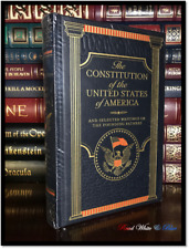 The Constitution & USA Original Writings New Sealed Leather Bound Gift Hardback