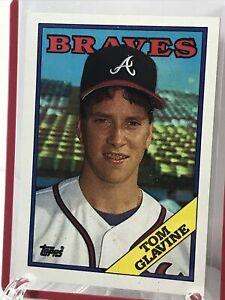1984 TOM GLAVIN TOPPS SERIES 1 Atlanta BRAVES