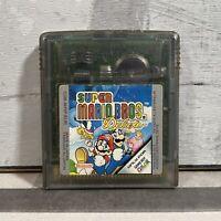 Super Mario Bros. Deluxe Nintendo Game Boy Color Game 1999