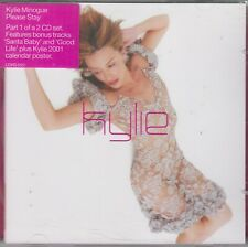 Kylie Minogue 3 track cd single Please Stay / Santa Baby incl: foldout calender