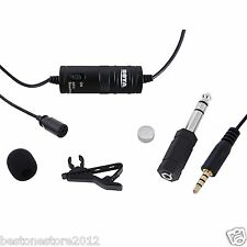 Pro Audio Lavalier MIC Micro-cravate for Gopro Hero superb sound audio record US