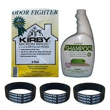 "Kirby ""Set 5 tlg."" 6 Allergen Filter + Shampoo + 3 Riemen (202916/252702/301291)"