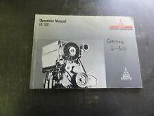 Deutz FL 1011 Engine Operation Manual