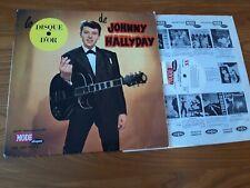 HALLYDAYJohnny : Le Disque D'or LP VOGUE MODE INT.9072 60's BIEM  Ed.1 LANGUETTE