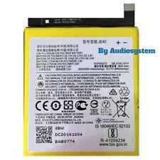 Batteria Motorola JE40 per Moto One P30 Play Xt1941, G7 Play Xt1952 3000Mah