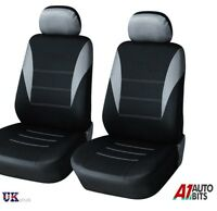 For Renault Espace Kangoo Trafic Master 1+1 Grey-Black Fabric Front Seat Covers