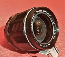 ASAHI F/2 35MM SMC TAKUMAR WIDE ANGLE LENS FOR M42 PENTAX BODIES - MINT
