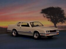1984 84 CHEVY MONTE CARLO SS COUPE 1/64 SCALE COLLECTIBLE DIECAST MODEL DIORAMA