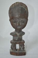 Vintage African Carved Wood Art Figure Wooden #Z1