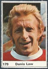 MARSHALL CAVENDISH TOP TEAMS 1971- #179-MANCHESTER UNITED-DENIS LAW