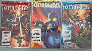 ULTRAMAN #1 2 3 (1993) FULL SET OF POLYBAGGED VIRGIN VARIANTS! 1ST APPEARANCE!