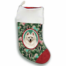 American Eskimo Christmas Stocking