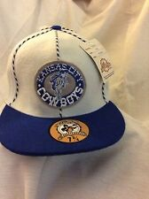 KANSAS City Cowboys Fitted Football Hat 7 3/4 Excellent Condition New With Tags!