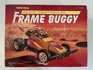 Radio Shack Vintage Frame Buggy RC Car w/Original Box Manual Controller 60-4073