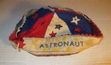 Vintage Astronaut Red White Blue Star Astronaut Criterion Cap Co Felt Beanie Hat