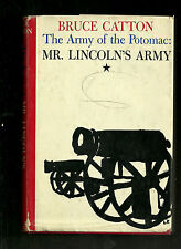 1962 Hardback DJ-The Army of the Potomac-Mr Lincoln's Army-Bruce Catton-Good