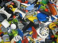 50 LEGO OUTER SPACE PIECES LOT translucent star wars classic vintage