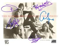 YES BAND SIGNED AUTOGRAPH 8x10 RPT PROMO PHOTO  ALL 5 MEMBERS  IT CAN HAPPEN