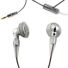 Plata Auriculares con correa de cuello Gimnasio Deporte Trotar Mp3 Ipod, teléfonos inteligentes