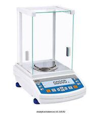 Radwag AS 220 Analytical Balance 220g X0.0001 g,Internal Cal,2 year Warranty,NEW