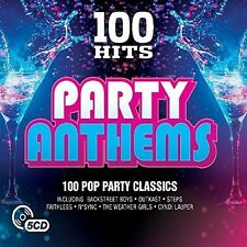 Various Artists - 100 Hits: Party Anthems / Various [New CD] UK - Import