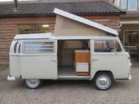 VW T2 Westfalia Roof Canvas-Front Hinging Heavy Duty 1968-1973 Beige C81783B