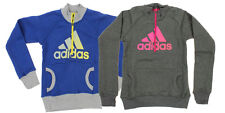 Adidas Youth Cotton Fleece Graphic Pullover Sweater