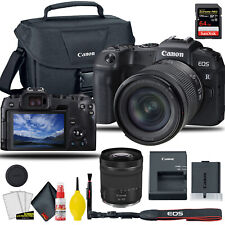 Canon EOS RP Mirrorless Digital Camera W/ 24-105mm f/4-7.1 Lens + Bag +  & More