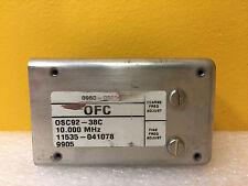 HP / Agilent 0960-0909 (OSC92-38C) 10 MHz, Precision Crystal Oscillator