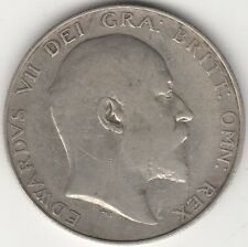 More details for 1906 edward vii silver half crown | british coins | pennies2pounds