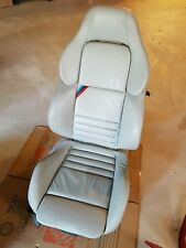 95-99 BMW M3 E36 Coupe Vader Front Seat DOVE GRAY Leather LOCAL PICKUP