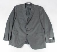 Peter Millar Mens Blazer Gray Size 46 Two-Button Notched Collar Wool $598- #183